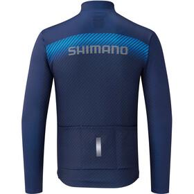 Shimano Team Koszulka rowerowa z długim rękawem Mężczyźni, navy